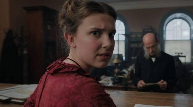Millie Bobby Brown: Love the fact that Enola Holmes can be very vulnerable