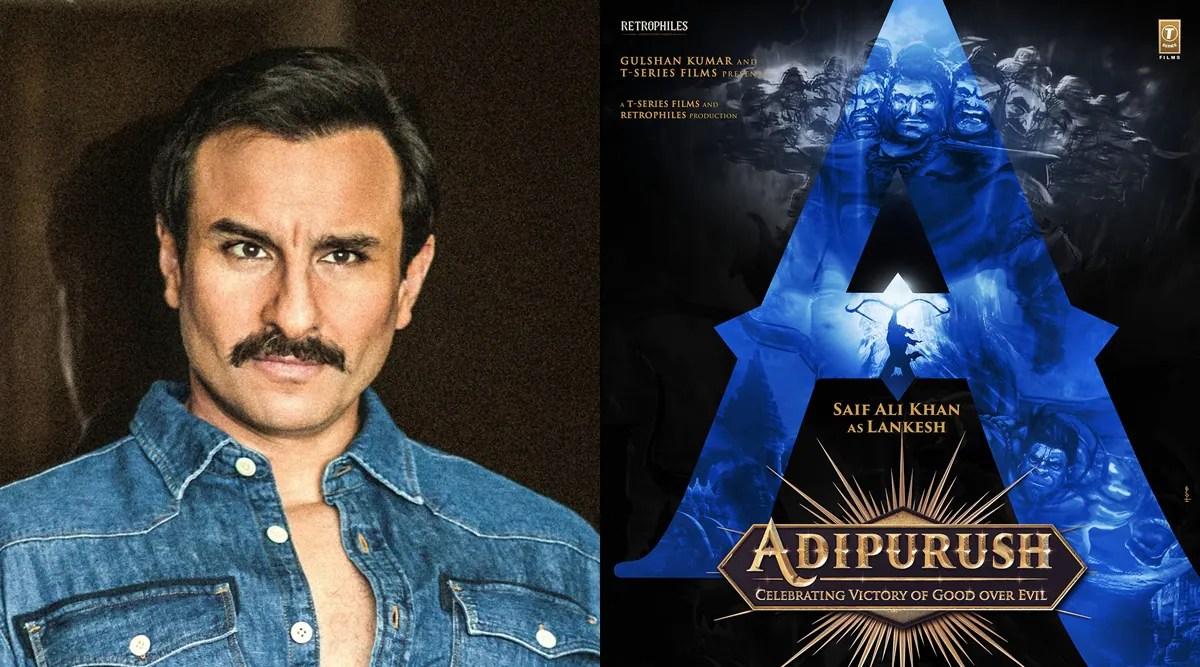 Saif Ali Khan to play the villain in Prabhas starrer Adipurush |