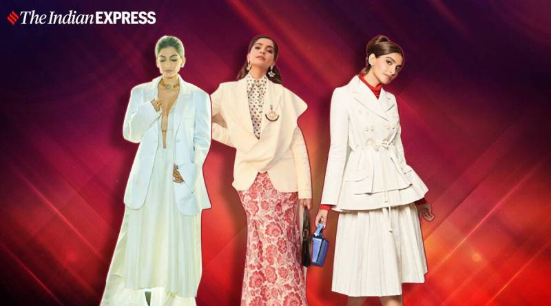 sonam - Sonam Kapoor shows how to style white outfits with oodles of glamour