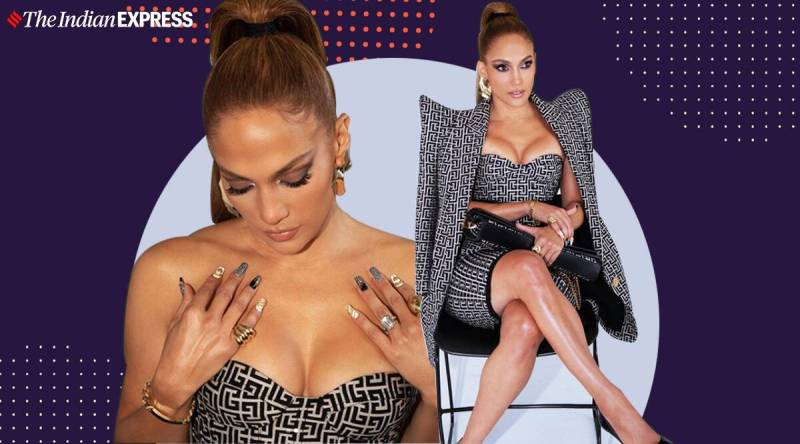 Jennifer Lopez - Celeb fashion: Jennifer Lopez's latest look is high on glamour