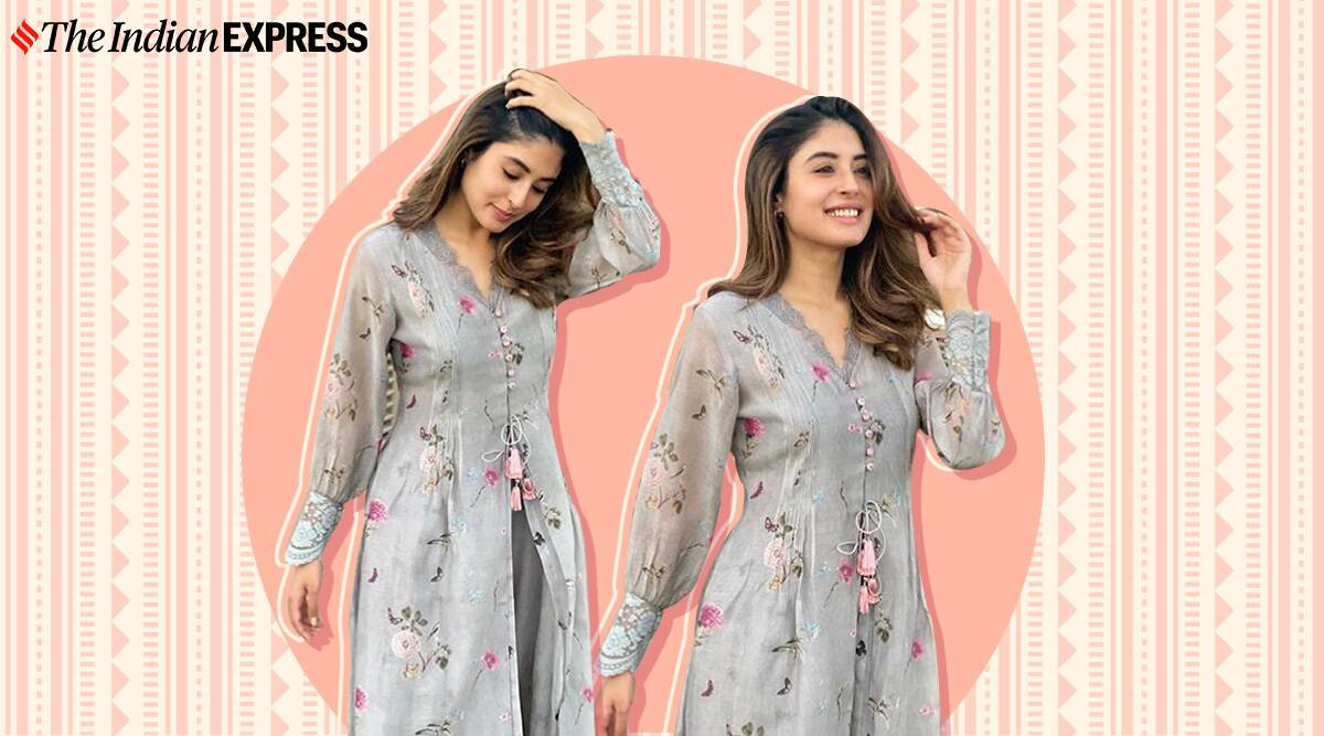 Kritika Kamra We need Kritika Kamra's latest outfit in our wardrobe for Navratri Day 1; check it out here