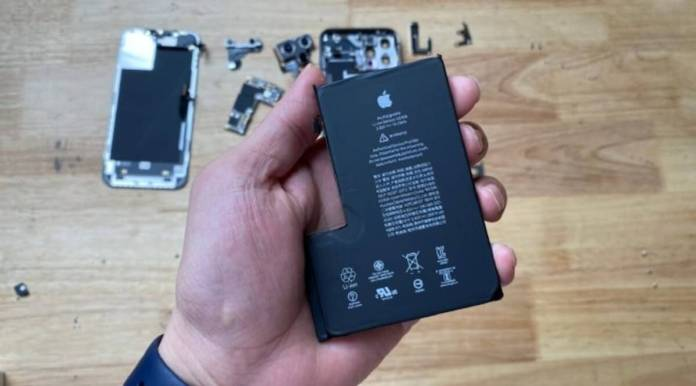 Apple Iphone 12 Pro Max Teardown Video Shows Battery Other Internals Technology News The Indian Express