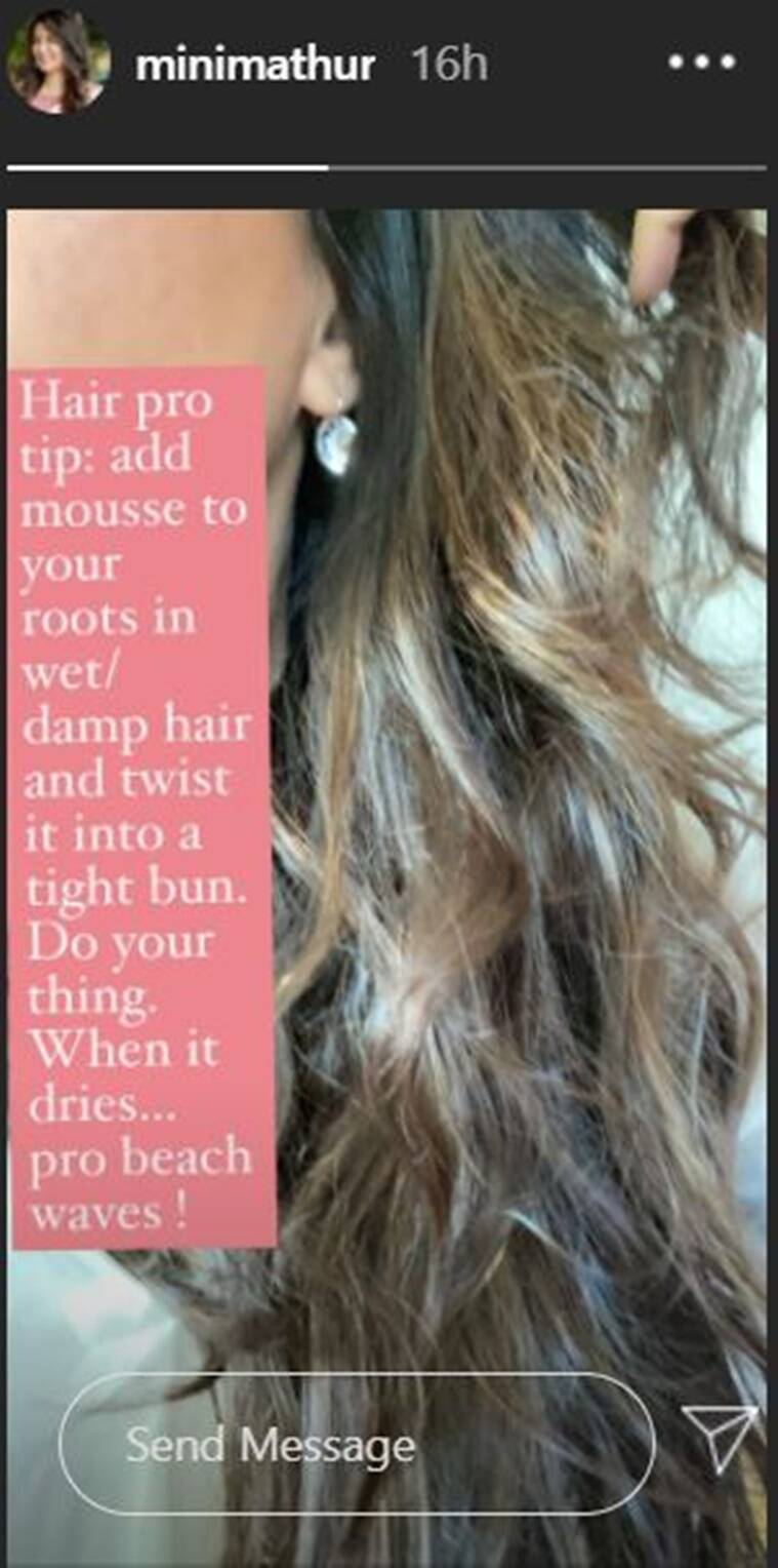 Capture 4 Try Mini Mathur's hack to get heatless curls and enjoy a good hair day!