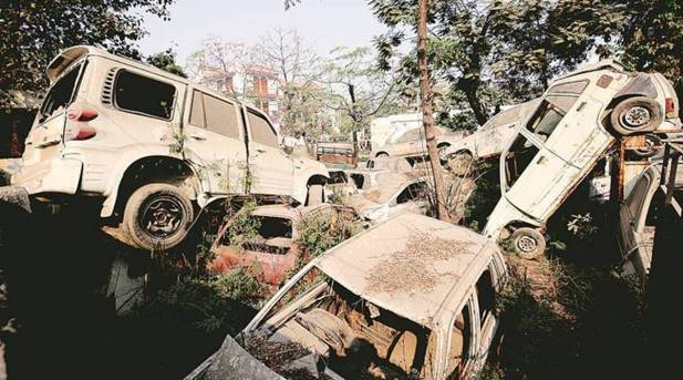 Mumbai Police join hands with NGO to clear abandoned vehicles | Cities News,The Indian Express