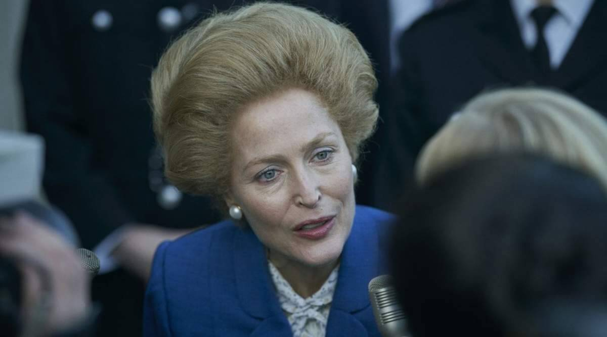 Gillian Anderson brings uncanny Iron Lady to The Crown