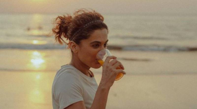 taapsee pannu health drink 1200 - Rashmi Rocket: Taapsee is having this 'fat-burning' drink to combat pain from athletic training