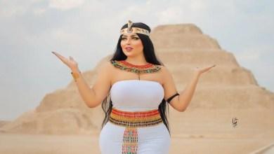 القبص علي فتاة السيشن سلمي الشيمي في مصر بسبب جلسة تصوير فاضحةبالاهرامات