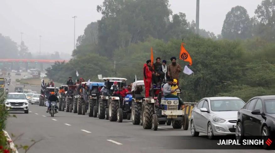 Bauernproteste, Bauernproteste in Delhi, Farmgesetze, Bauerngespräche der Regierung, Polizei in Delhi, Amit Shah, Narendra Singh Tomar, Nachrichten aus Indien, Indian Express