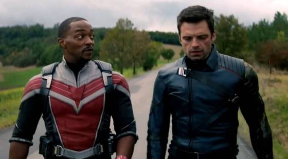 Falcon and the winter soldier, marvel