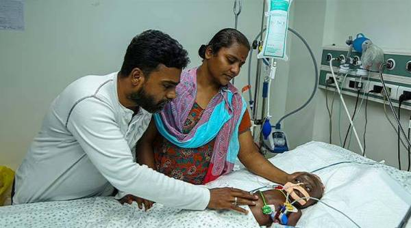 3 16 With all organs failed, this innocent 8 months old baby requires all your support to live