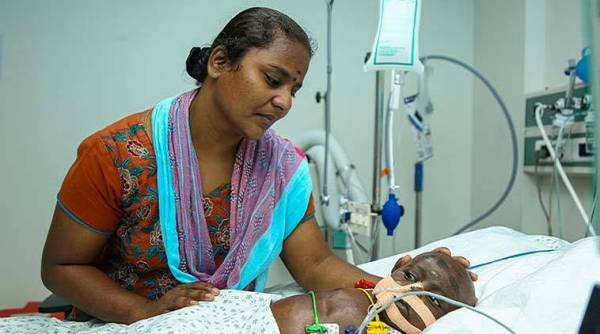4 12 With all organs failed, this innocent 8 months old baby requires all your support to live