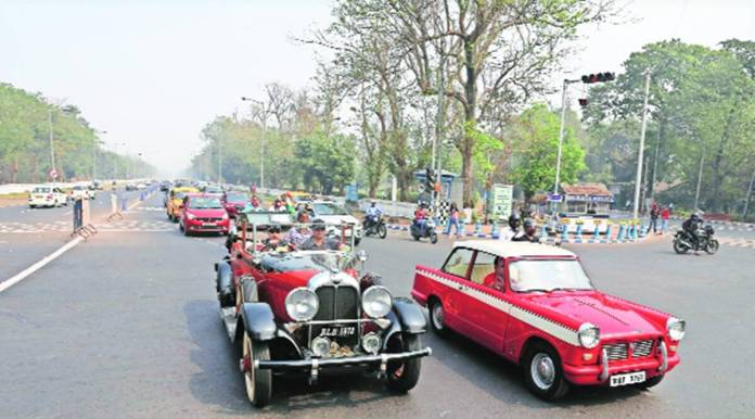 Vintage And Classic Vehicles Take To Kolkata S Streets In V Day Event Cities News The Indian Express