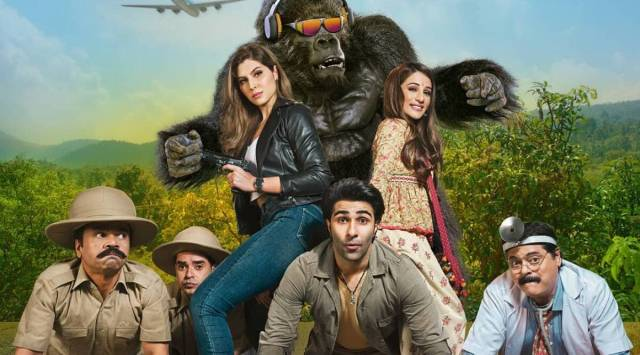 Hello Charlie trailer: Comedy of errors featuring Aadar Jain, Jackie Shroff  and a gorilla | Entertainment News,The Indian Express