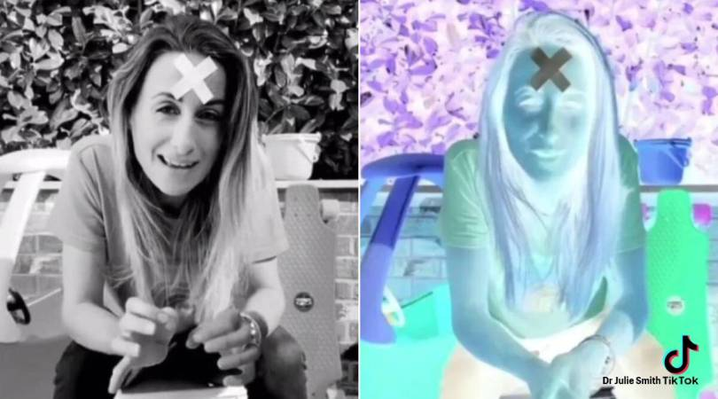 Watch this psychologist trick your brain into seeing black and white video in colour