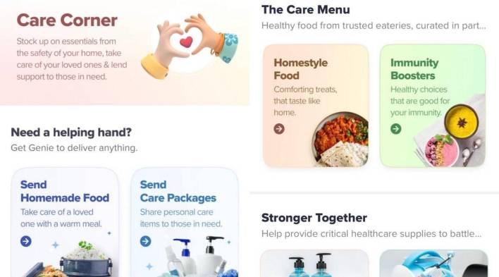 swiggy adds care corner for covid-19 needs: here's how to use it effectively