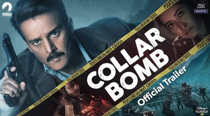 Collar Bomb trailer: Jimmy Sheirgill races against time to save a town from a bomb | Entertainment News,The Indian Express