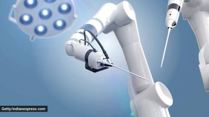 Robotic joint replacement, what is robotic joint replacement, knee replacement surgery, robotics in surgery, indian express news
