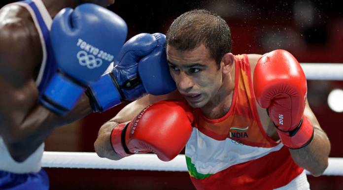 Tokyo 2020: Amit Panghal's debut campaign ends after shock loss in last-16  | Olympics News,The Indian Express