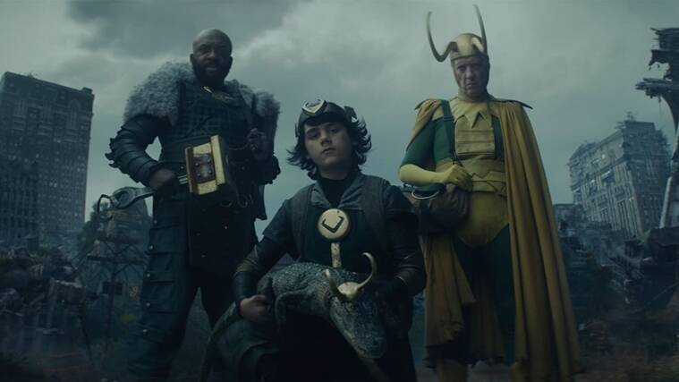 Loki Episode 4: Explaining the explosive post-credits scene, and the  Time-Keepers reveal | Entertainment News,The Indian Express