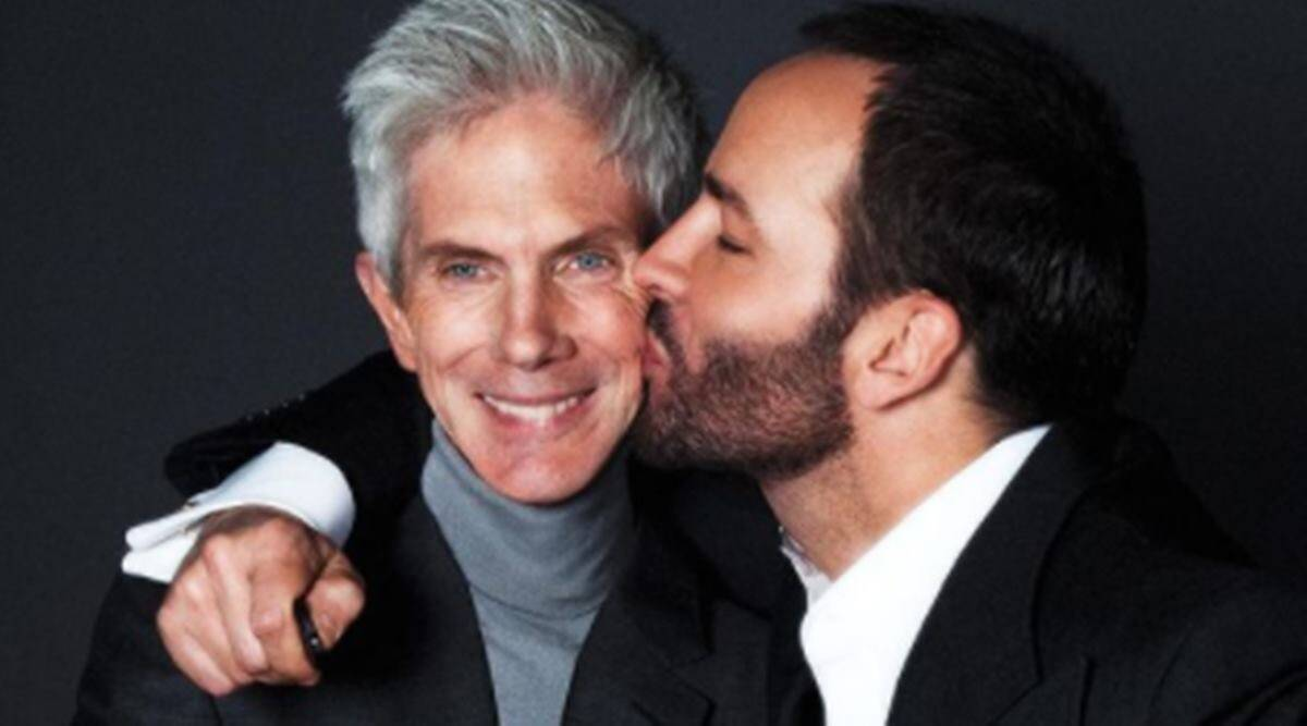 Tom Ford's husband Richard Buckley dies at the age of 72 after 'prolonged illness'