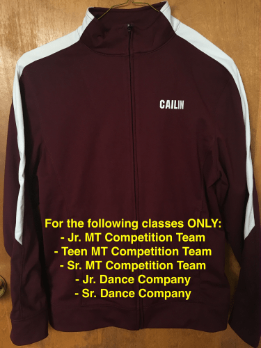 BAY COLONY COMPETITION JACKETS