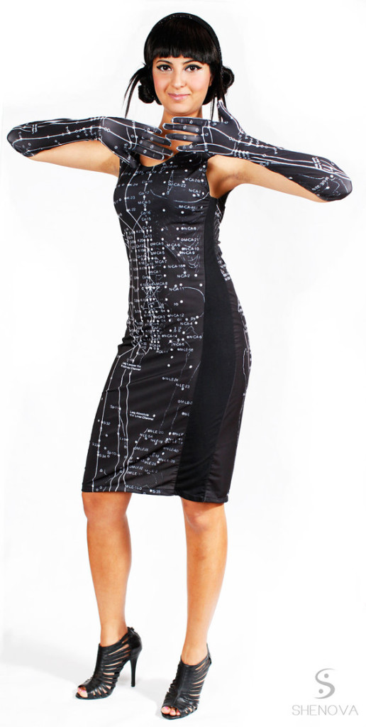 Acupuncture dress
