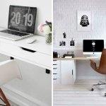 Skrivebord 6 Ikea Hacks Til Hjemmekontoret Boligmagasinet Dk
