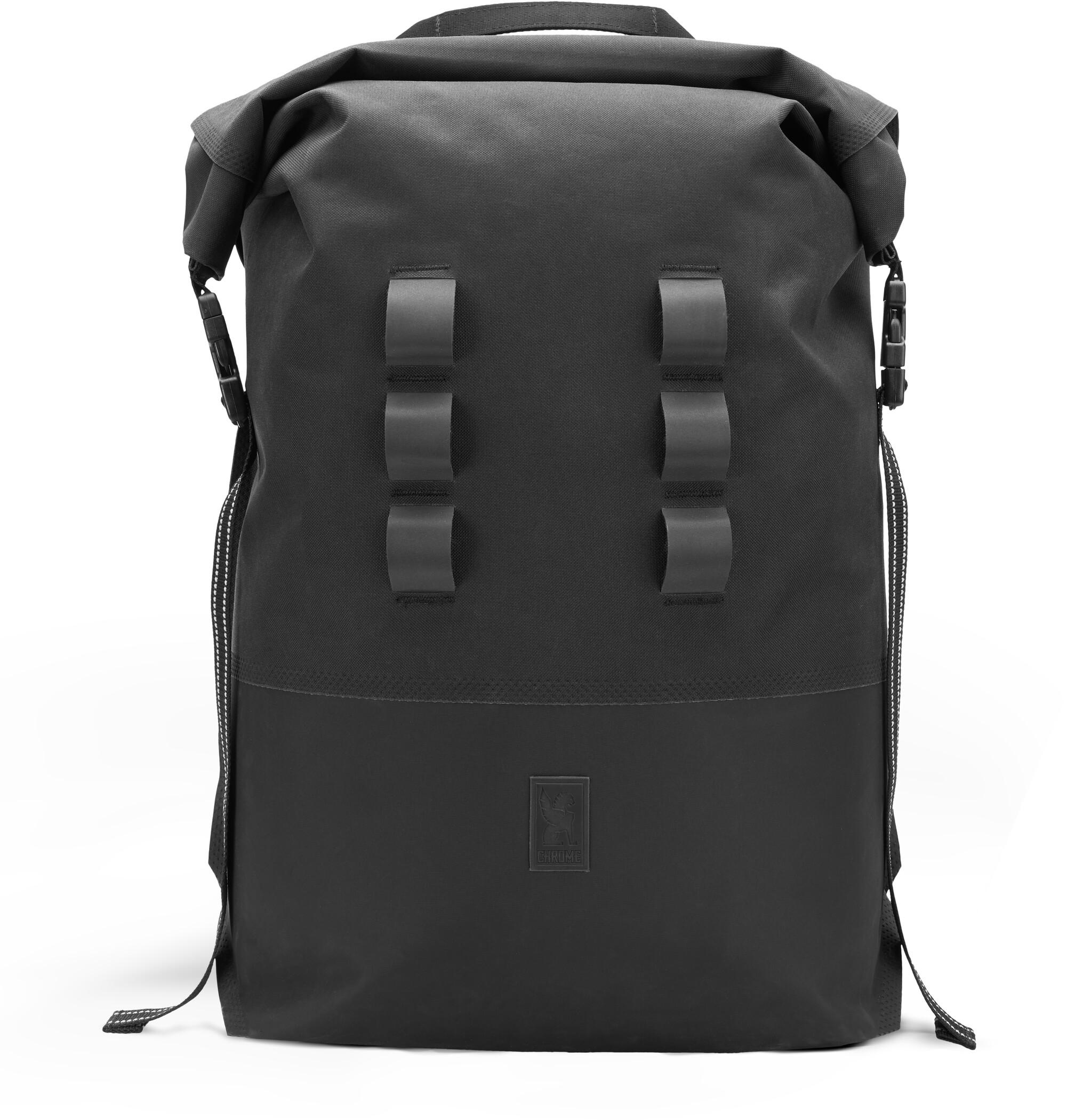 chrome urban ex 2 0 sac a dos rolltop 30l black boutique de velos en ligne bikester fr