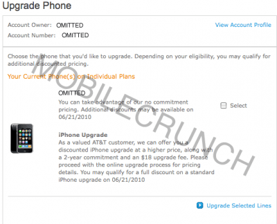 iPhone 4G Upgrade Eligibility Date