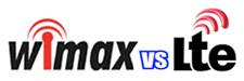 wimax versus lte comparison logo