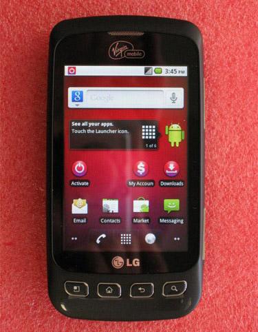 Virgin Mobile LG Optimus V