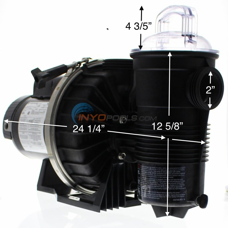 Pentair Challenger Pool Pump Parts