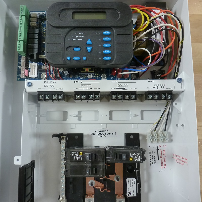 How to Wire 230V Equipment to the Hayward Pro Logic  INYOPools