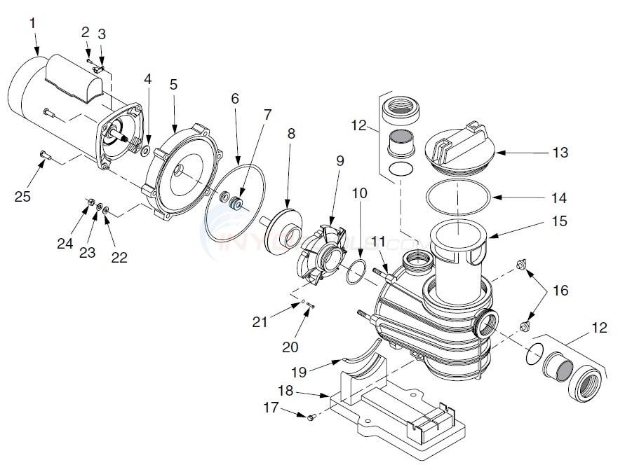 Flotec AT251001 & AT251501 Parts  INYOPools