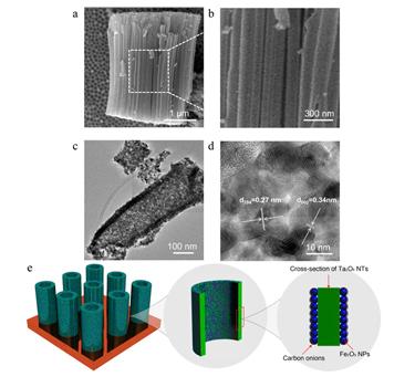 The heterogeneous nanotubes