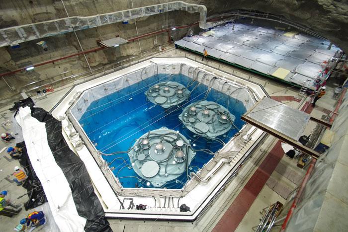 Detectores de antineutrinos en Daya Bay