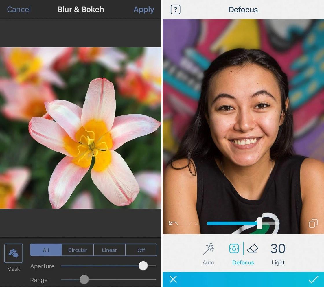 Aplikasi kamera blur otomatis android dan iphone