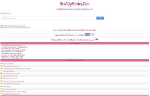 Top 10 Free MP4 Mobile Movies Download Sites