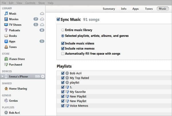 Transfer Playlist From Iphone To Itunes Windows