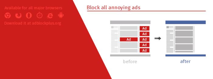 AdBlock Plus bloque les publicités dans votre navigateur
