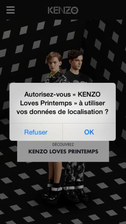 Aperçu de l'autorisation de localisation par iBeacon sur iOS