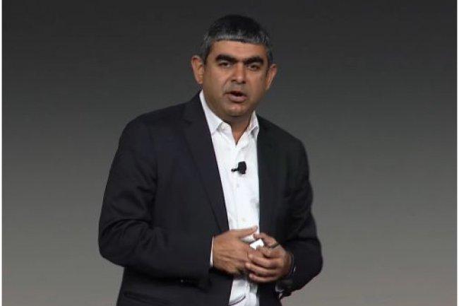 Vishal Sikka, directeur technique et membre du comité exécutif de SAP, sur TechEd Las Vegas 2013. (crédit : D.R.)