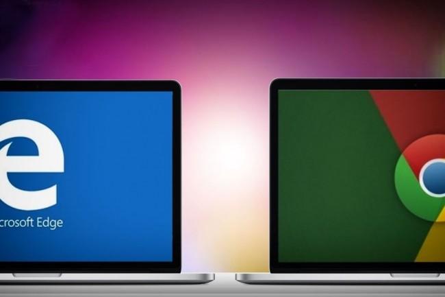 Après avoir adopté le code source Chromium, Microsoft envisage désormais de rendre sont navigateur phare compatible Mac. (crédit : D.R.)