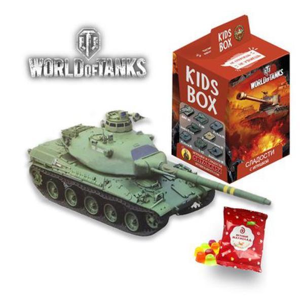 Свит бокс World of tanks коллекция танков мира Кидсбокс и ...