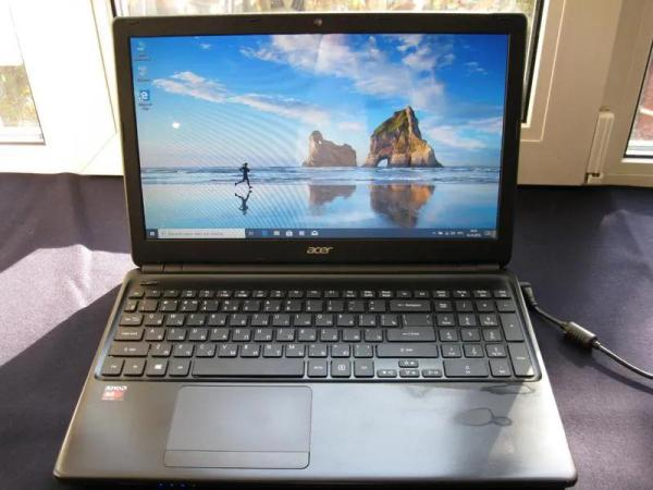 Ноутбук Acer Aspire E1-522 /AMD 4 ядра/4Gb DDR3/HDD 500Gb ...
