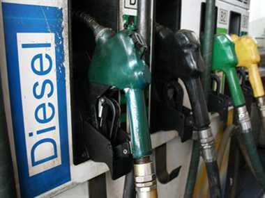 diesel price hike