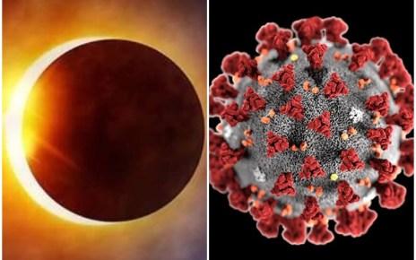 Surya Grahan से शुरू हुआ था कोरोना, सूर्य ग्रहण पर हो जाएगा खत्म, पढ़िए वैज्ञानिक का बड़ा दावा