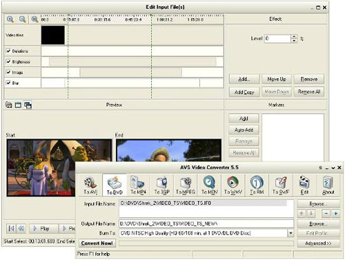 AVS Video Tools Screenshot