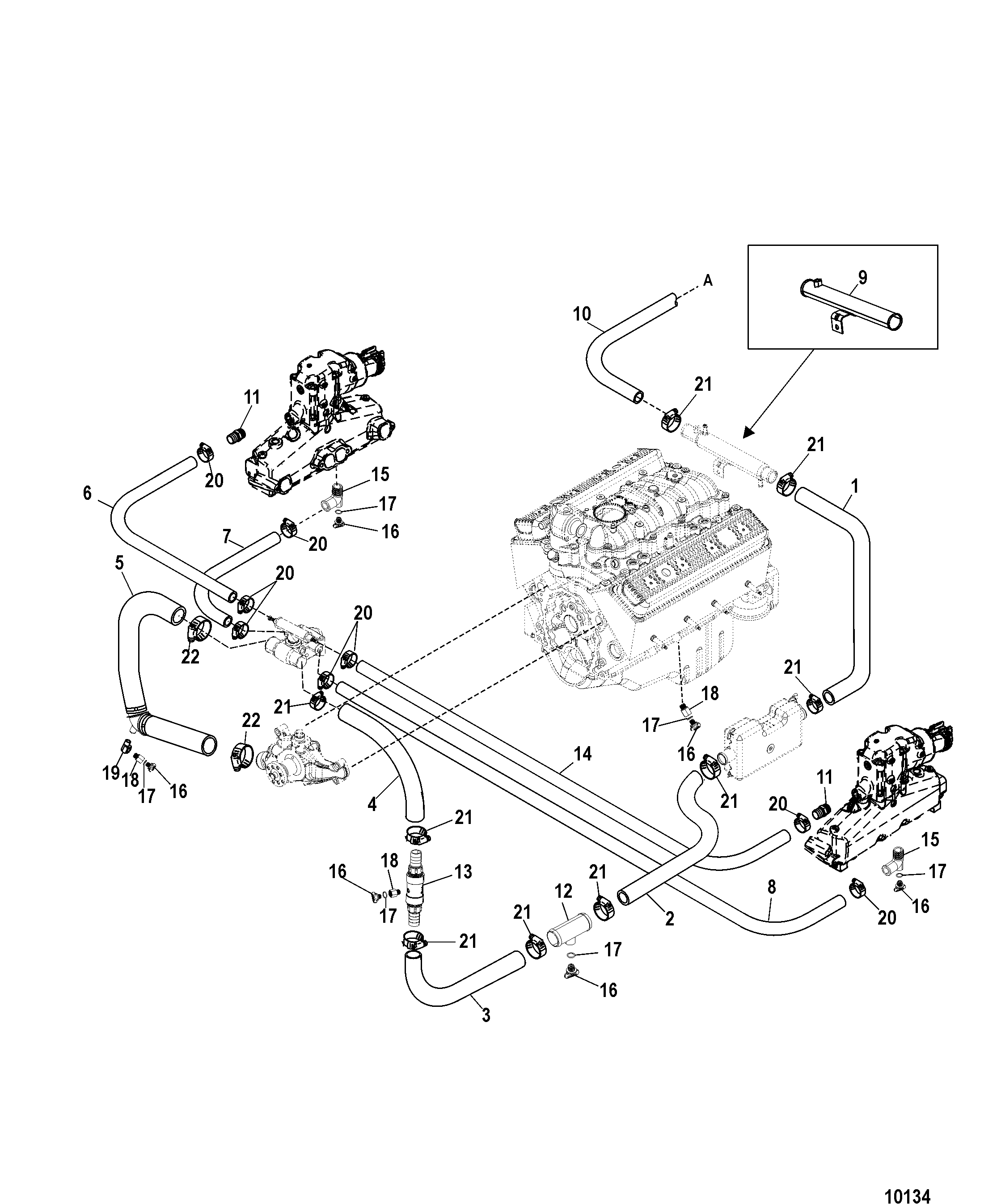 5 7 Mercruiser Engine Wiring Diagram Diagram Wiring