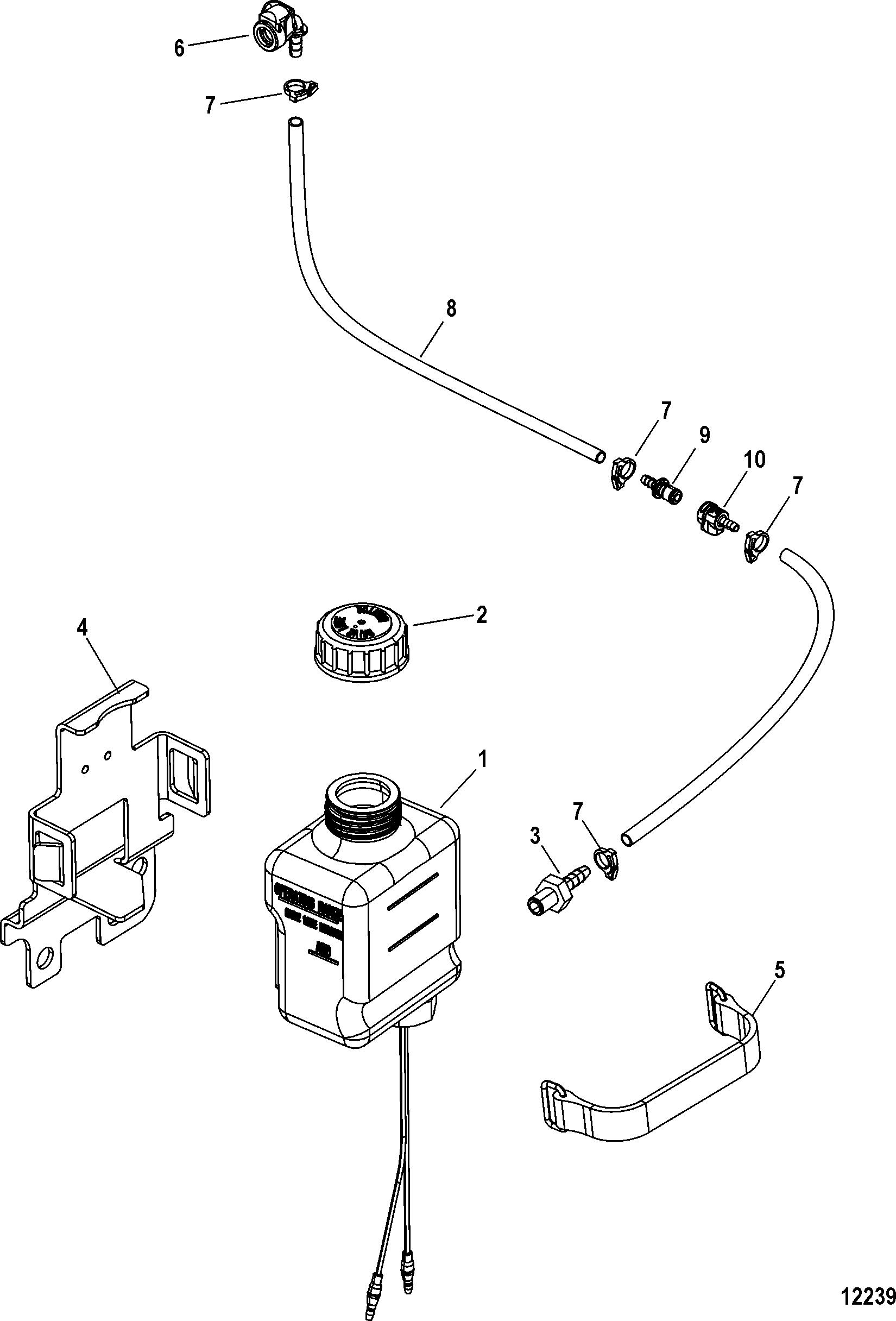 Gear Lube Monitor For Mercruiser 3 0l Mpi Ec